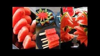 忍者可爱水果艺术创意-智能水果盘装饰