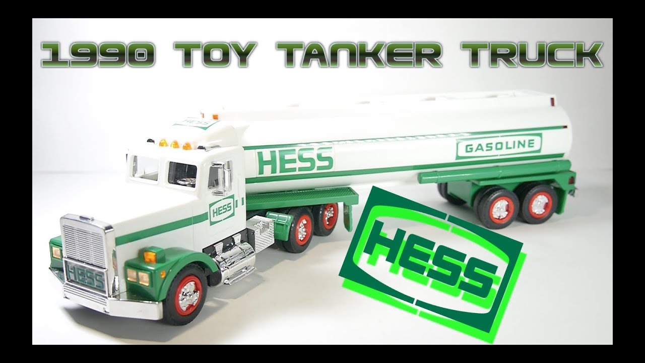 1990 hess toy tanker truck video review