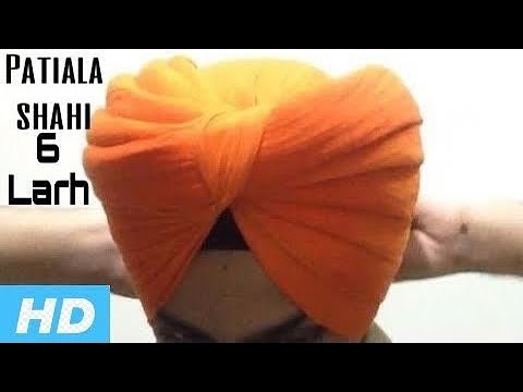 how to tie patiala shahi turban video download