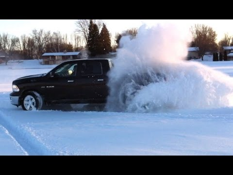 Ram Big Horn >> Dodge Ram 1500 5.7L Hemi V8 Big Horn 4x4 Deep Snow Donut ...