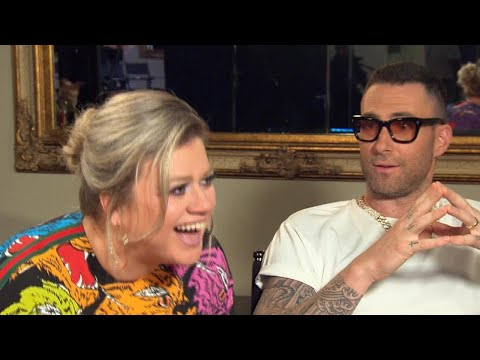 Adam Levine Says He Would 'Absolutely' Tour With Fellow 'Voice' Coach Kelly Clarkson Again