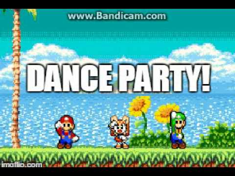 Mario And Luigi Dance To What Is Weegee 2012 (Also Cream)
