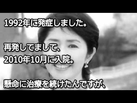 【衝撃】田中好子の最期が凄すぎる!!闘病生活を隠し続けた理由が…【芸チャン】