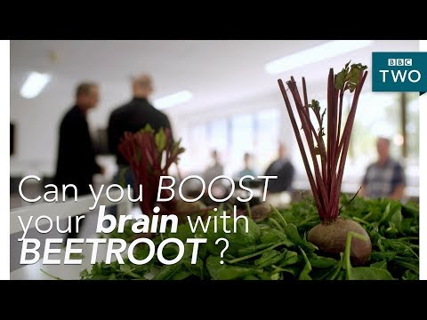 Can you boost your brain with beetroot?  - Trust Me I'm a Doctor - BBC Two