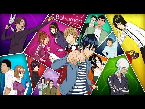 Gamefreak Anime Reviews - Bakuman Review