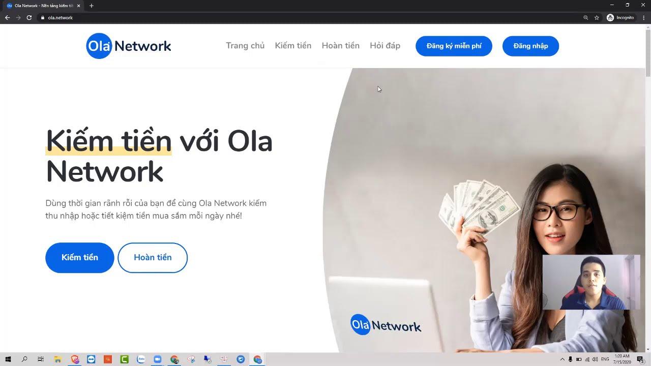 Ola Network là gì?  Kiếm Tiền Điện Thoại 10tr Mỗi Tháng Với OlaNetwork Uy Tín
