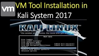 How to Install VMware Tools in Kali Linux 2017