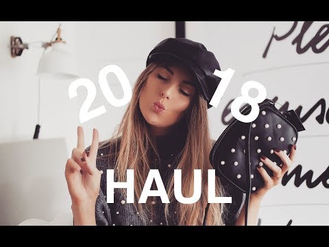 NEW YEAR HAUL | 2018 | Topshop, Asos, Revolve, Acne, River Island