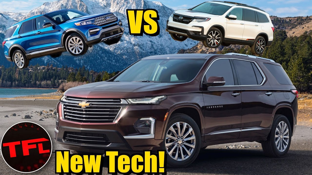 First Look Is The 2021 Chevy Traverse Now The Best Looking Family Hauler On The Block Youtube