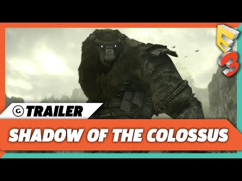 Shadow of the Colossus World Premiere Trailer | E3 2017 Sony Press Conference