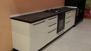 Кухня 300см с радиусными фасадами и Итальянским пластиком