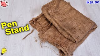 Best Out of Waste Idea || Pen Stand Making at Home || Jute Craft Idea