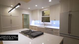 Home renovation , Kitchen and Bathrooms remodel .