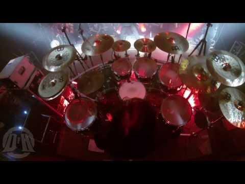 HUNTER@Imperium Uboju-live at Zabrze-Poland 2013 (Drum Cam)