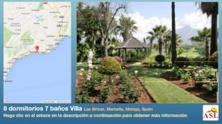8 dormitorios 7 baños Villa se Vende en Las Brisas, Marbella, Malaga, Spain