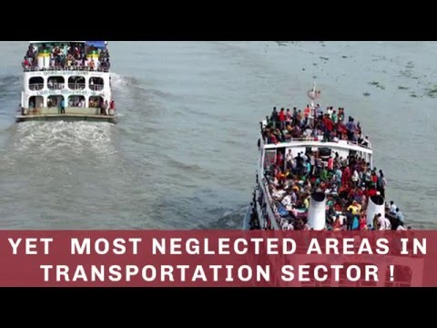 Why is the government so eager to promote waterway transportation?