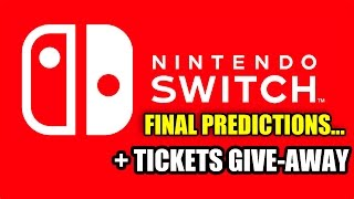 Nintendo Switch - Launch Predictions & Tickets Give-away
