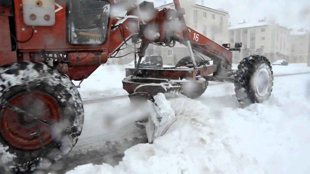 Erciş Belediyesi Karla Mücadele çalışmaları