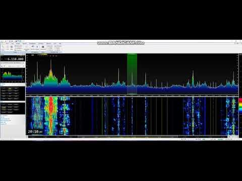 Ethiopia Radio Fana 14/1/17 @ 20:07 on 6110 kHz