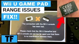 Wii U Gamepad Sync Problem (Range Issues Fix) - Connection With Wii U Console Lost