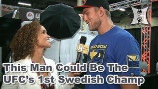 Alexander Gustafsson On Fighting Jon Jones at UFC 165, Mousasi Cancellation + Silva vs Weidman