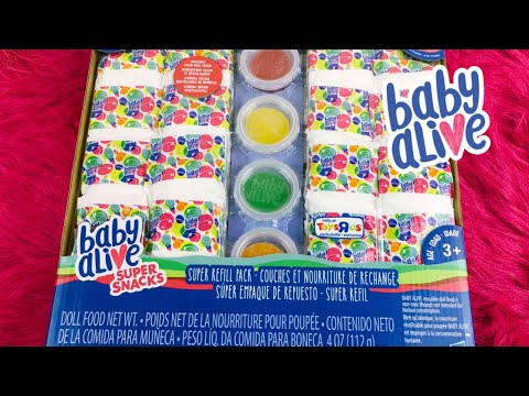 NEW Baby Alive Super Snacks Super Refill Pack A Toys R Us Exclusive