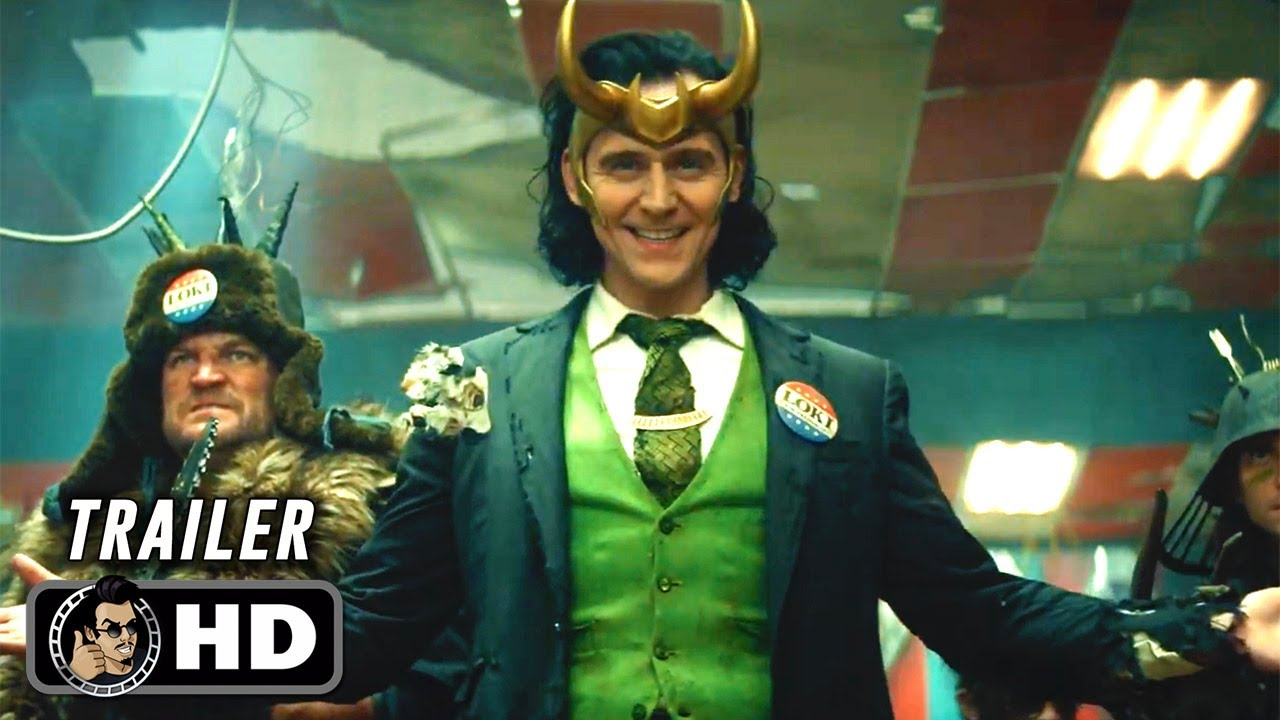 LOKI Official Trailer (HD) Tom Hiddleston - YouTube
