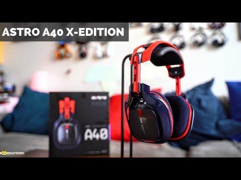 Astro A40 TR X-Edition: 10th Anniversary Headset!!!