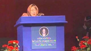 Guests Remarks at Ahmadiyya Muslim Community Annual Convention USA 2011