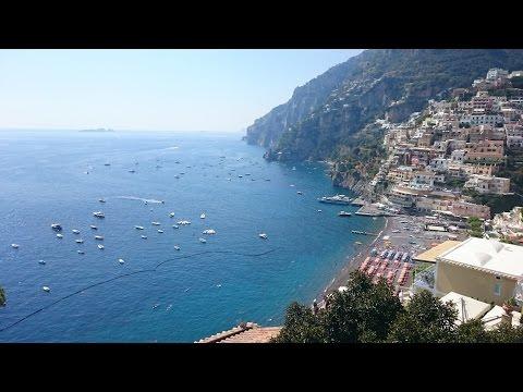 Amalfi coast, Capri, Vesuvius & Napoli 2016
