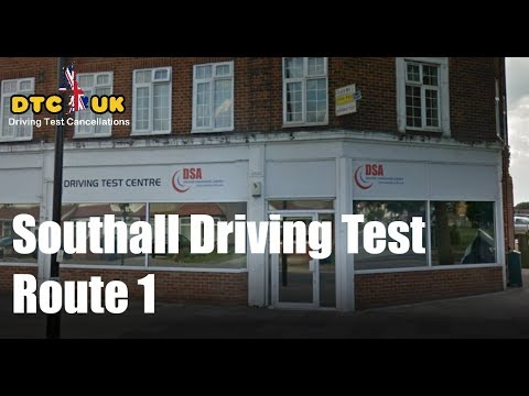 Southall Driving Test Route 1 | DTC-UK | Driving Test UK