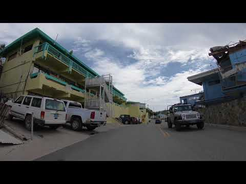 Cruz Bay, St. John, US Virgin Islands - October 27, 2017