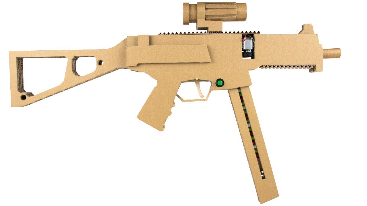 How To Make Cardboard Ump45 #1