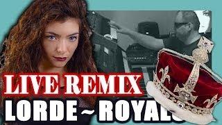 Lorde - Royals REMIX LIVE cover (Royal Dream remix by Janxen)