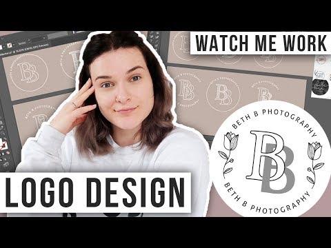 Watch Me Design a Logo: Using Adobe Illustrator & Procreate thumbnail