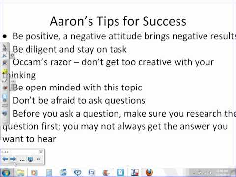 Tips for Success In Anatomy and Physiology.wmv