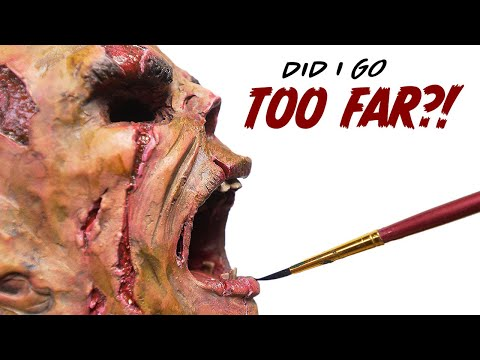 Taking my Painting to the Next Level! - *Gruesome Art*