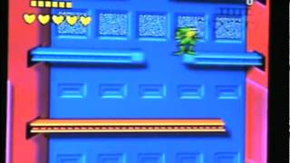 (SEGA MEGA DRIVE) - Battletoads Level 8: Intruder Excluder