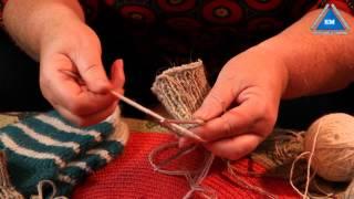 Как связать носки спицами от резинки до пятки - Урок 4