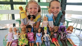 Surprising the Girls with Barbie Fashionistas