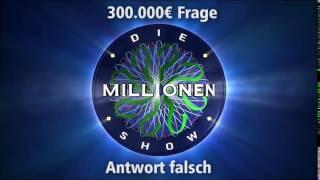300.000€ Frage - Antwort falsch | Millionenshow Soundeffect