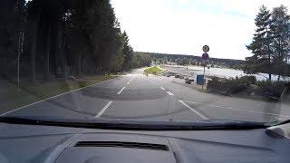 Mit dem Auto von den Greifensteinen zum Greifenbach Stauweiher