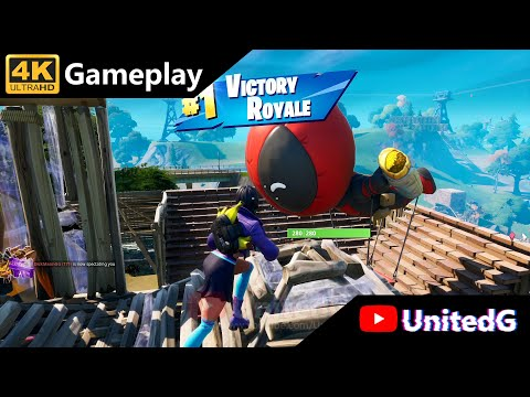 Fortnite - Xbox One X Gameplay 4K