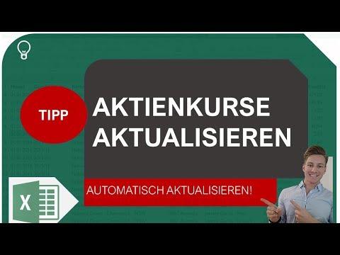 Aktienkurse Automatisch In Excel Laden Und Aktualisieren I Excelpedia