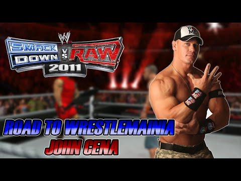 WWE SmackDown vs Raw 2011 - Road to Wrestlemania: John Cena - #07 - O VERDADEIRO TRÍRA