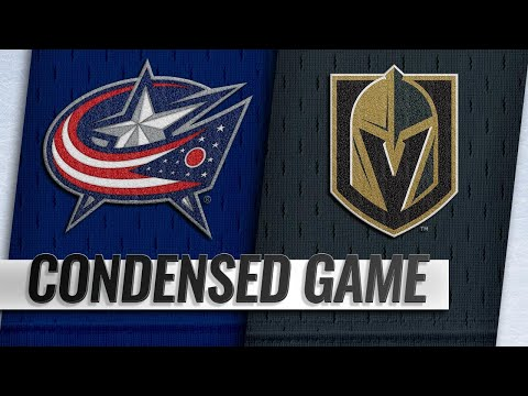 02/09/19 Condensed Game: Blue Jackets @ Golden Knights