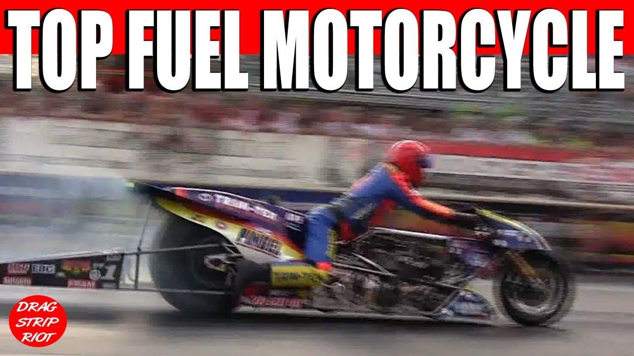 Spiderman Top Fuel Motorcycle Drag Racing Nitro Bike Larry Mcbride