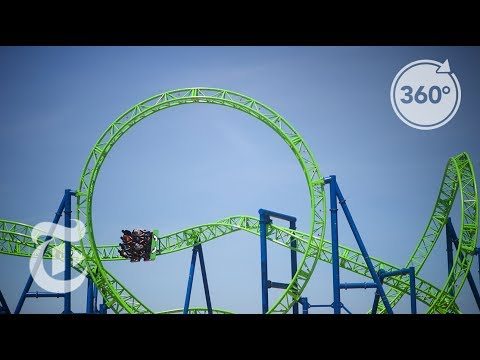 Strap Into The Jersey Shore's New Roller Coaster   The Daily 360   The New York Times