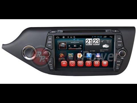 Штатное головное устройство Android Kia Ceed Redpower 18238