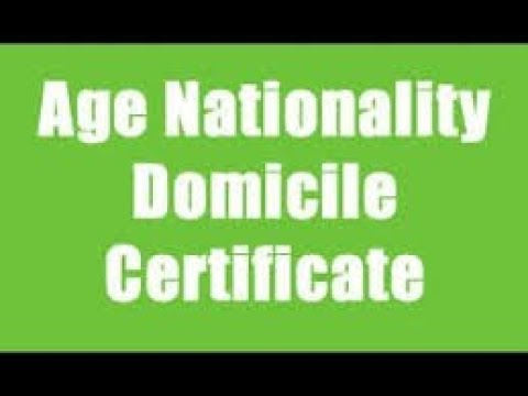 How To Apply For Domicile Certificate Online In Maharashtra Mumbai